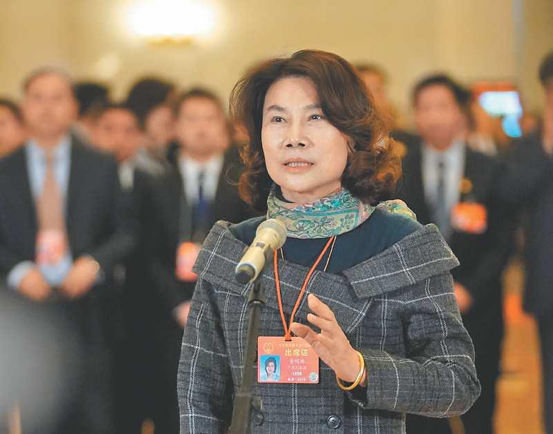 珠海格力電器股份有限公司董事長董明珠。(新華社資料照片)