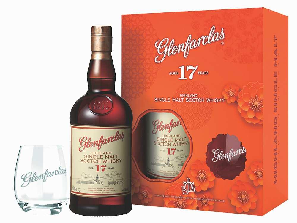 ●「格蘭花格17年單一麥芽威士忌」,建議售價:2,050元。圖/業者提供