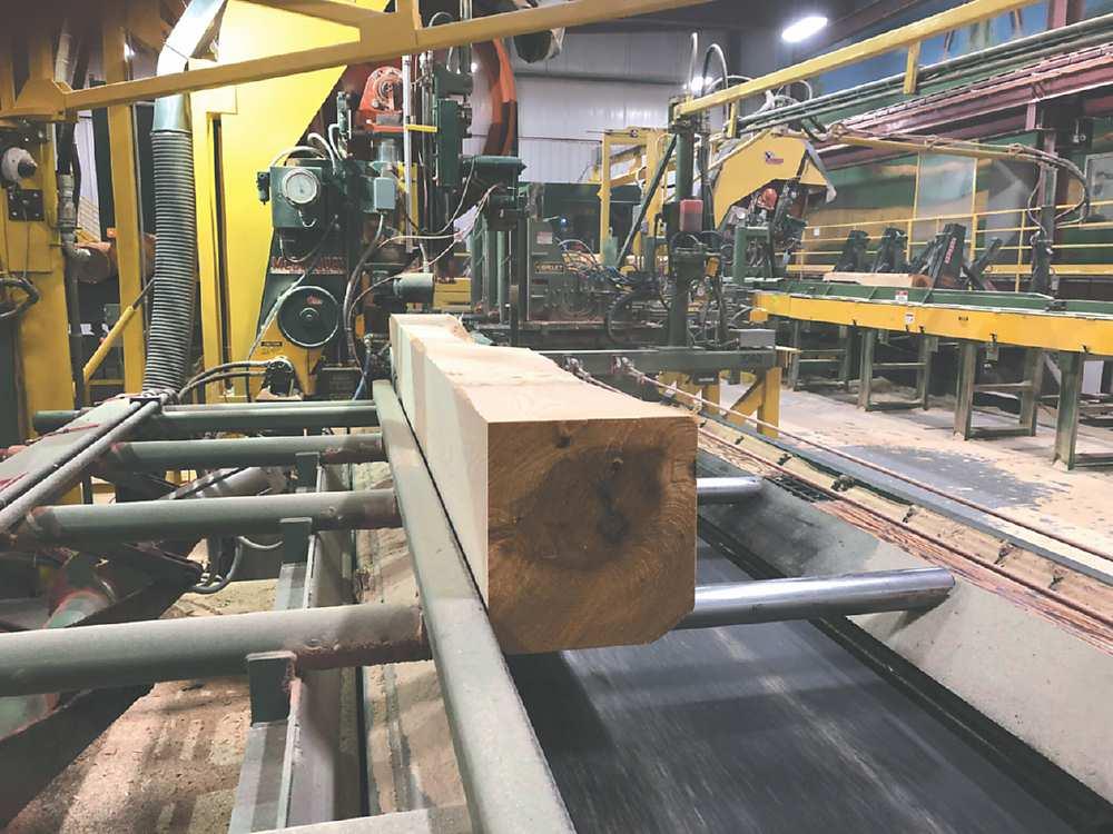 ●木材供不應求情況,美多家鋸木廠業者訂單已排滿至6月。圖/美聯社