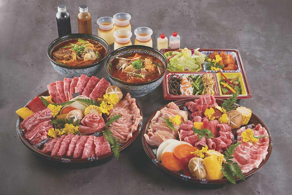 「滿腹大盛燒肉組」 圖/燒肉的名門-赤虎