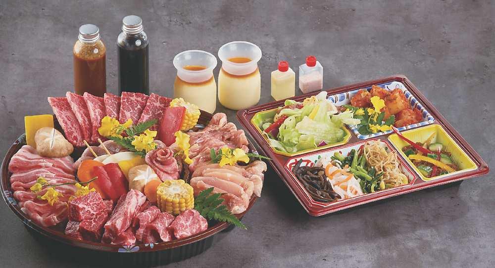 「赤虎雙人派對燒肉組」 圖/燒肉的名門-赤虎